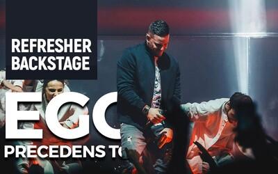 Navštívili sme debutovú zastávku Egovej Precedens Tour. Takto vyzerá prvá zo shows za dohromady 100-tisíc eur