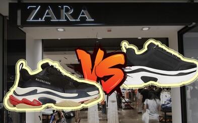 Navštívili sme fast fashion predajne a hľadali napodobeniny. Zara či Forever 21 stále vykrádajú svetové značky