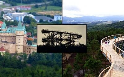 Navštívili sme novú pýchu Bojníc. 30-metrov vysoká rozhľadňa nemá na Slovensku žiadnu konkurenciu