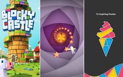 Návykové arkády, špičkové puzzle alebo poriadna sci-fi akcia. 10 nových hier pre smartfóny a tablety