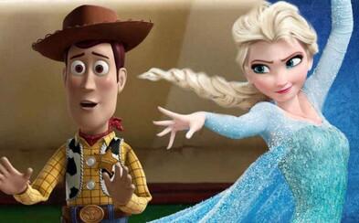 Názov Frozen 2 nebude klasicky očíslovaný a Toy Story 4 mení režiséra