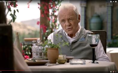 Nazrite do pozadia jednej z najlepších scén Westworldu, ktorá vás presvedčí, že Anthony Hopkins je naozaj geniálnym hercom