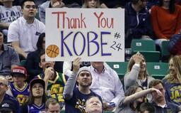 NBA v nočních zápasech uctila památku Kobeho Bryanta. Nechyběla minuta ticha, ani pravidlo 24 vteřin