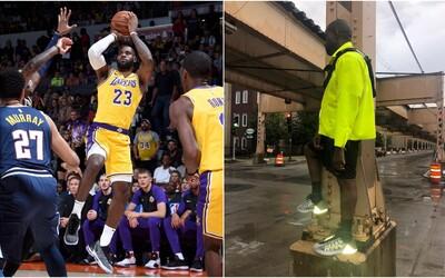 NBA zakázala Kanyeho basketbalové Yeezy. Reflexní pata by prý mohla rušit diváky