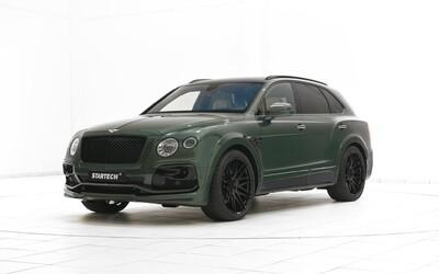Ne, toto není nový armádní speciál, ale 608koňové Bentley Bentayga v brutální úpravě od Startechu