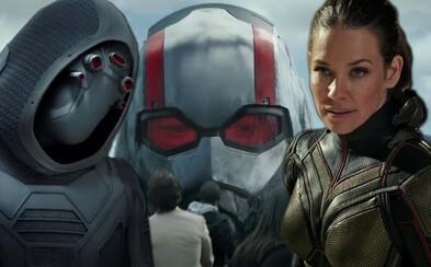 Nebezpečná Wasp versus záporáčka Ghost, ktorá dokáže prechádzať stenami. Ant-Man a Wasp dorazia do kín už o pár dní