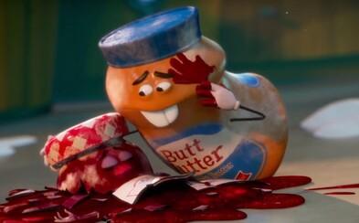 Nechutný animák pre dospelých láka v novej upútavke zvrhlými párkami a krvavou cestou jedla