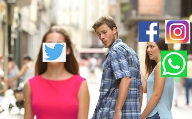 Nefugujúci Facebook, Instagram a WhatsApp spustili lavínu memes
