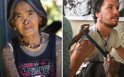 Nejbolestivější tetovací technika z Filipín, které celý svůj život zasvětila 99letá stařenka. Do kůže ti u ní vtloukají trny