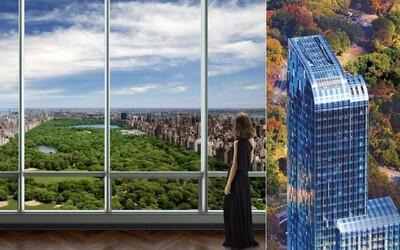 Nejdražší budova v New Yorku poskytuje jejím obyvatelům úžasný výhled na Central Park a nekonečný luxus v jednom