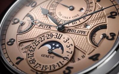 Nejdražší hodinky světa se v aukci prodaly za 716 milionů korun. Jsou z 18karátového zlata a skládají se z 1 400 dílů