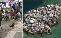 Nejhustěji obydlený ostrůvek s 1200 obyvateli. Neexistuje na něm kriminalita ani pitná voda, ale lidé žijí šťastně