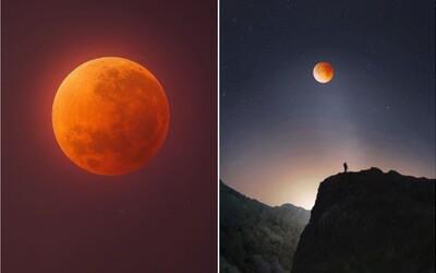Nejkrásnější fotografie krvavě rudého Měsíce z nejrůznějších koutů světa ti vezmou dech