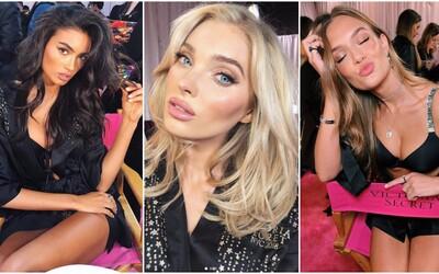 Nejkrásnější modelky světa předvedly sexy postavy v zákulisí Victoria's Secret Fashion Show