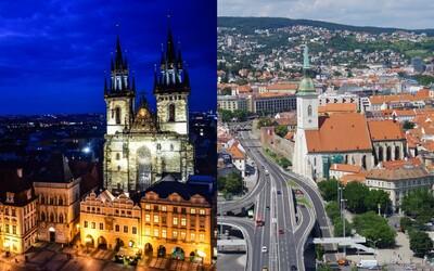 Nejlepší a nejhorší města k životu? Praha je na 69. místě, Bratislava na 80.