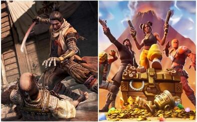 Nejlepší hrou roku se stává strhující Sekiro: Shadows Die Twice. Cenu si odnesl i Fortnite a česká hra Beat Saber
