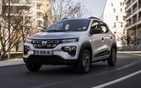 Nejlevnější elektromobil v Evropě je realitou. Dacia Spring Electric stojí ve Francii v přepočtu zhruba jen 320 tisíc korun