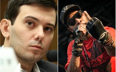 """""""Nejnenáviděnější muž v USA"""" přišel o vzácné album Wu-Tang Clanu, které si koupil za 2 miliony dolarů. Soud mu vzal i pravý obraz od Picassa"""