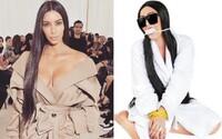 Nejofenzivnější kostým na letošní Halloween ztvárňuje svázanou Kim Kardashian během nedávné loupeže v pařížském bytě