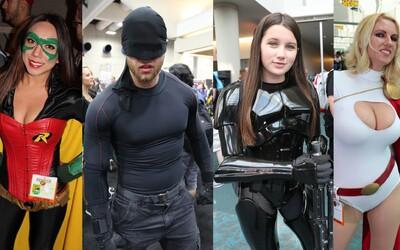 Nejoriginálnější a nejvíc sexy cosplay z Comic-Conu - spousta svalů, prsou a skvělých kostýmů
