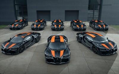 Nejrychlejší auto planety putuje k majitelům. Bugatti vyrobilo prvních 8 kusů Chironu Super Sport 300+