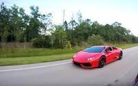 Nejrychlejší Tesla ve sprintu proti 610koňovému Lamborghini Huracán. Jak to dopadlo?