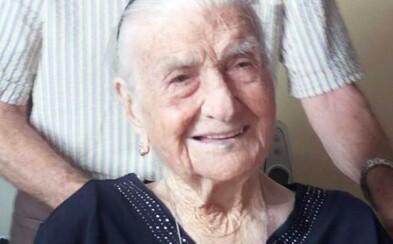 Najstaršia Európanka zomrela vo veku 116 rokov. Dlhovekosť pripisovala abstinencii