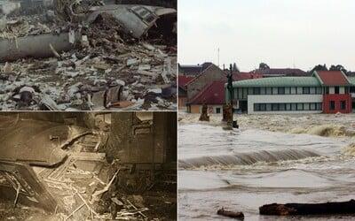 Největší katastrofy v historii Česka. Od výbuchu v továrně přes ničivé povodně až k metanolu, který v roce 2012 zabil na 50 lidí
