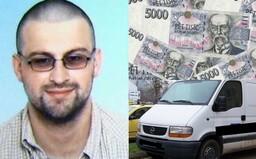 Najväčšia krádež v histórii Českej republiky. František Procházka si počas jednej zmeny v bezpečnostnej agentúre prišiel na 21 miliónov eur