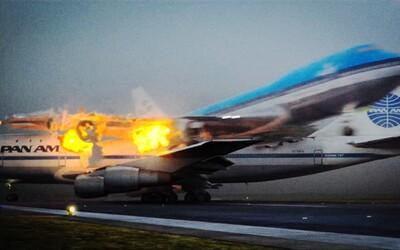 Největší letecká tragédie v dějinách si vyžádala stovky obětí. Příčinou byla celá řada nešťastných okolností