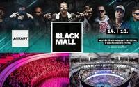 Největší pražská rapová indoor událost už tento víkend. Přijď na Black Mall Festival, kde vystoupí H16, Ego, Smack, Pil C, Logic a další!