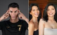 Nejvíce na Instagramu vydělává Ronaldo, Kylie a Kendall Jenner jsou daleko v závěsu. V TOP 10 je 6 fotbalistů