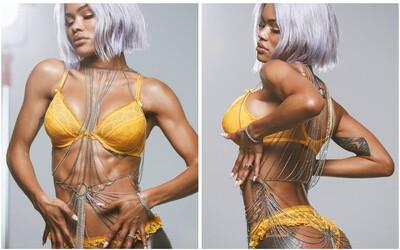Nejvíce sexy kampaň na spodní prádlo za poslední období? Vysportovaná Teyana Taylor se předvedla pro Agent Provocateur