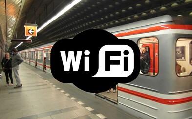 Nejvytíženější stanice pražského metra dostanou v rámci modernizace Wi-Fi pokrytí