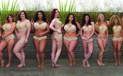 Nejznámější plnoštíhlé modelky se ve spodním prádle snaží změnit ideály krásy zažité ve společnosti