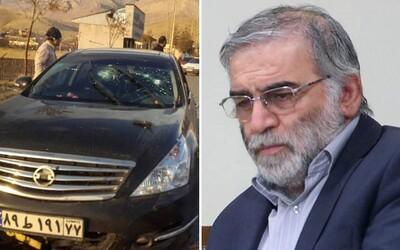 Někdo spáchal atentát na íránského jaderného vědce: Tamní ministr zahraničí jeho smrt označil za akt terorismu