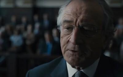 Nekompromisný finančník Robert DeNiro sa v skutočnom príbehu The Wizard of Lies dopustí najväčšieho podvodu USA a zničí tým seba aj svoju rodinu