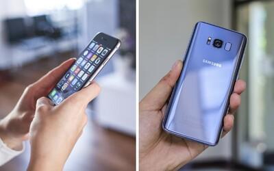 Některé iPhony a Samsungy mohou překračovat limity pro maximální záření