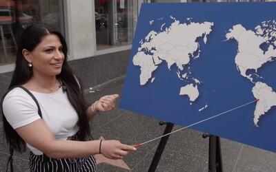 Někteří Američané nedokáží pojmenovat ani jednu zemi na mapě světa. Jimmy Kimmel opět otestoval geografické znalosti lidí