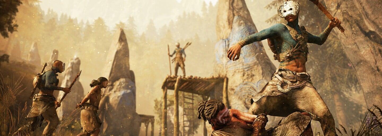 Nelítostné války soupeřících kmenů udělají z Far Cry Primal pořádně krvavý zážitek