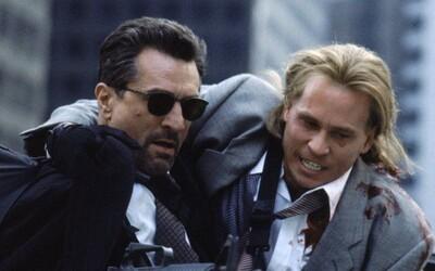 Neľútostný súboj Al Pacina a Roberta De Nira je nezabudnuteľnou peckou a jednou z najlepších kriminálok vôbec