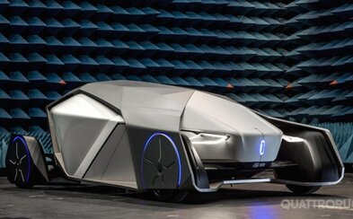 Nemá okná a ani emisie. Futuristický koncept Shiwa dokáže rozpoznávať pasažierov aj sám šoférovať