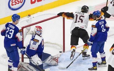 Nemci so 14 hráčmi si poradili s výberom Slovenska na hokejových MS do 20 rokov