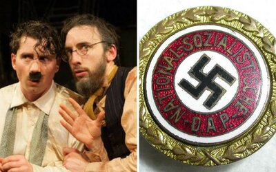 Nemecké divadlo prišlo s kontroverzným experimentom. Dá vstupné zadarmo tomu, kto si pripne odznak s hákovým krížom