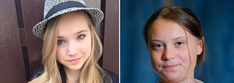 """Německou youtuberku nazývají """"antiGreta"""" Thunberg. Mladá dívka zpochybňuje, že za globální oteplování mohou lidé"""