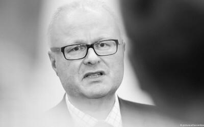 Německý ministr si vzal život, obával se nezvládnutí ekonomické krize, kterou způsobí koronavirus