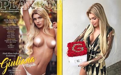 Německý Playboy na obálce poprvé uvede transgender modelku. 21letá Giuliana se v magazínu objeví nahoře bez