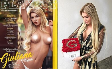 Nemecký Playboy na obálke prvýkrát uvedie transgender modelku. 21-ročná Giuliana sa v magazíne objaví hore bez