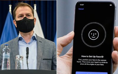 Nemůžeš si odemknout iPhone přes Face ID s rouškou? Nový update na iPhone nabídne řešení
