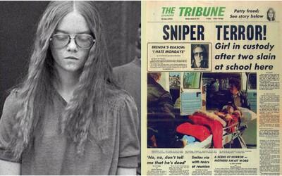 Nenávidela pondelky, preto začala strieľať po deťoch z jej školy a zabila dvoch ľudí. Vraj jej to zlepšilo deň